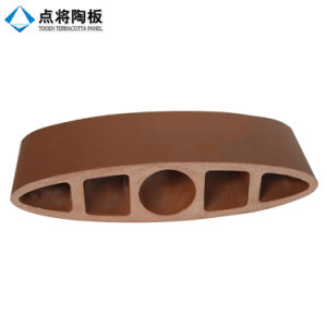 Exterior Irregular Terracotta Facade Curtain with Dry Handing System pictures & photos