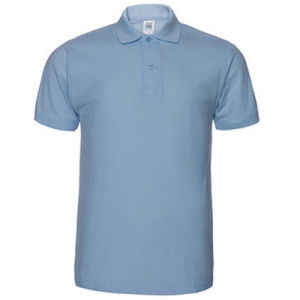 100% Cotton White Plain Custom Polo T-Shirt with High Quality pictures & photos