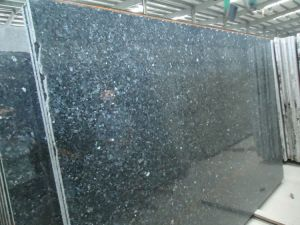 Popular Blue Pearl Granite Tiles for Paving and Wall pictures & photos