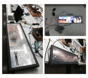 37.2 Inch Android WiFi 3G 4G Wall Mount Ultra Wide Bar LCD Panel (MW-377ADN) pictures & photos