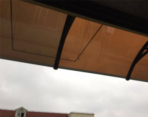 Overhead Windshield Use Polycarbonate Awning/Shade pictures & photos