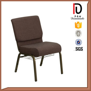 Chinese High Quality Economical Church Chair with a Book Rack pictures & photos