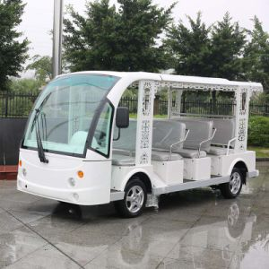 11 Seater Electric Sighseeing Shuttle Bus with CE (DN-11) pictures & photos