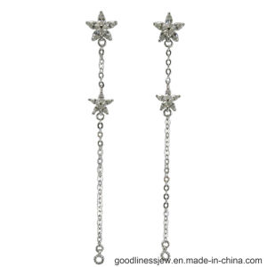 Simple Line Shape Earring with 925 Silver (E6732) pictures & photos