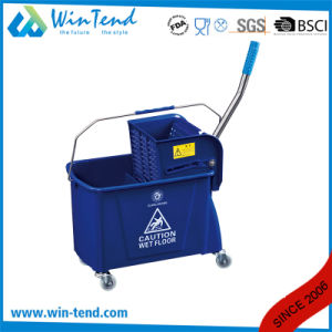 Heavy Duty Mop Bucket with Wringer for Hotel Used and Cleaning pictures & photos