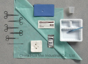 Sterile Anaesthetic Pack, Surgical Suture Set, Surgical Suture Pack pictures & photos