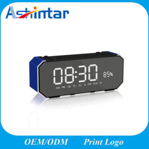 Alarm Clock FM Radio Wireless Stereo Sound Speaker Built-in Micro Stereo Sound Speaker pictures & photos