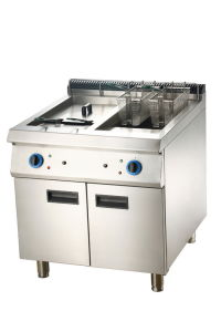 Electric 2-Tank Fryer with Cabinet (LEF-92C/72C) pictures & photos