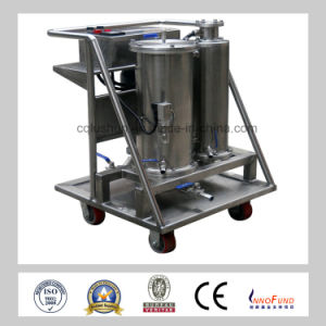 Zt -I Stainless Steel Separate Water and Oil Filtrtion Diesel /Fire-Resistant Hydraulic Oil Filter Cart pictures & photos