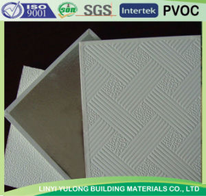 PVC Gypsum Board Ceiling Tile pictures & photos