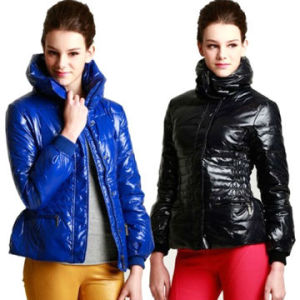 380t Nylon Taffeta Fabric, PU Coated, Good for Down Jacket, Outdoor Wear pictures & photos
