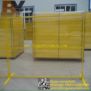 Canada Powder Coated Temporary Fencing pictures & photos