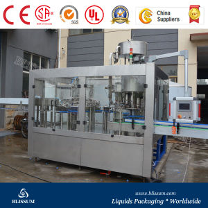 Factory Manufacture Plastic Bottle Water Filling Equipment pictures & photos