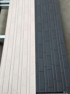 Building Material Brick Grain PU Foam Decorative Sandwich Panel pictures & photos