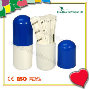 Capsule-Shaped Gift Set (pH4115) Wooden Tongue Depressor pictures & photos