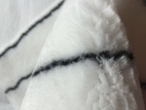 Black Line Polyester Paint Roller Fabric pictures & photos