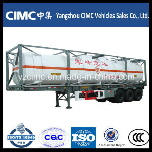 Cimc LNG Tank Container with Semi Trailer Chassis pictures & photos