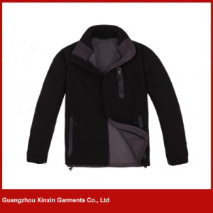 Custom Made Winter Softshell Fleece Jacket with Your Own Logos (J163) pictures & photos
