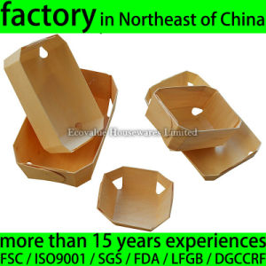 Wooden Baking Mold for Barkery, Natural Wood Baking Mould Disposable pictures & photos