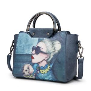 New Designer Brand Name Europe Style Women Carton Hand Bag pictures & photos