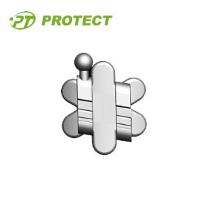 Flower Type Metal Orthodontic Bracket
