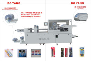 Batteries Blister Card Packaging Machine