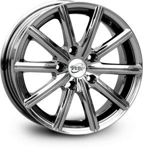 Shiny Vc Finish Alloy Wheel (UFO-1101) pictures & photos