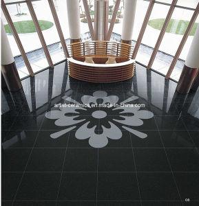 Super Black Polished Porcelain Ceramic Floor Tile From China Manufacturer pictures & photos