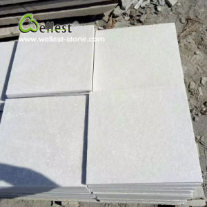 Flamed Super White Quartzite Paving Stone pictures & photos