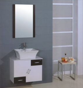70cm PVC Bathroom Cabinet Furniture (B-233) pictures & photos