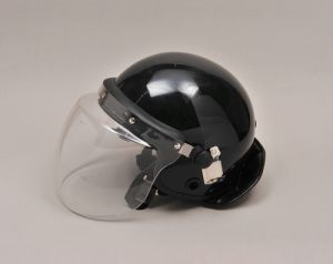Anti-Roit Helmet PC/ABS Black Garman for Military Equipment pictures & photos