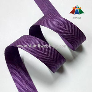 22mm Purple Nylon Binding Tape Webbing, Webbing Tape for Backpacks pictures & photos