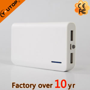 Hot 6000/6000/7800mAh Dual USB Power Bank with Flashlight (YT-PB22) pictures & photos