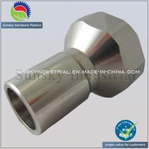Evacuation Coupling CNC Machined Aluminium Part (AL12093) pictures & photos