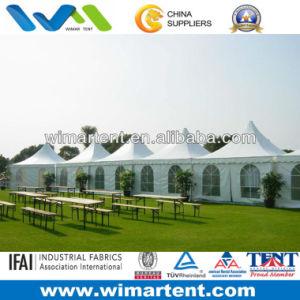 3mx3m White Aluminum PVC Pagoda Tent pictures & photos
