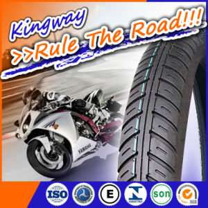 Black 3.25-16 Motor Motorcycle Tyre Tubeless Tyre pictures & photos