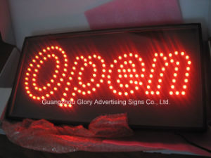 Open LED Neon Sign with Animation LED Open Sign pictures & photos