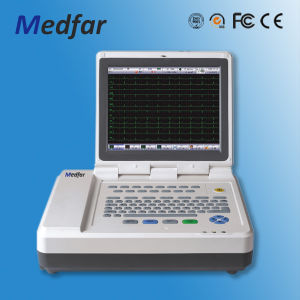 Medfar Mf-Xcm1200 12-Channel ECG Electrocardiograph pictures & photos