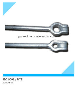 Electrical Line Hardware Ground Screw Anchor Rod pictures & photos