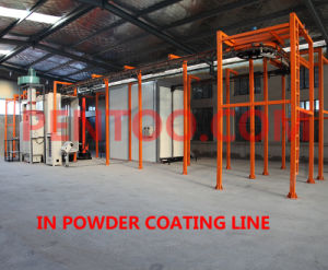 High Quality Manual Paint Spraying Booth for Steel Structures pictures & photos