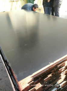 Brown Shuttering Plywood Poplar Core WBP Glue pictures & photos