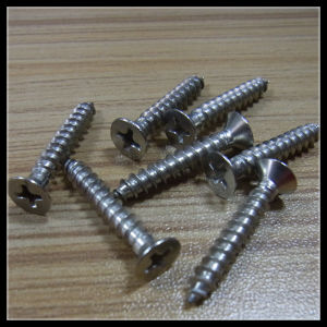 Countersunk Head Self Tapping Screw pictures & photos