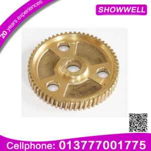 High Quality Forging Steel Gears, CNC Turing Gear, Involute Dual Gear for Machinery Parts Planetary/Transmission/Starter Gear pictures & photos