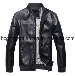 Motorcycle Suit, Men′s Safety Waterproof PU Leather Jackets pictures & photos