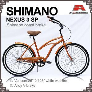 Nexus3 Speed Beach Cruiser Bike (ARS-2684S-2) pictures & photos
