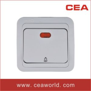10A 220/250V Door Bell Switch with/without Neon Indicator pictures & photos