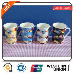 Customized Design White Porcelain Mugs