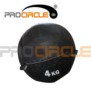 Dual Use Leather Medicine Ball (PC-MB1111) pictures & photos