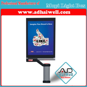 Advertising Aluminum Mupi Scrolling Double Side Light Box pictures & photos