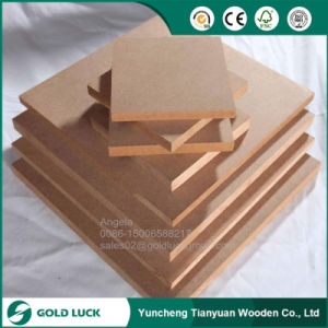 E1 Grade Waterproof 3mm Plain MDF Manufacturer pictures & photos